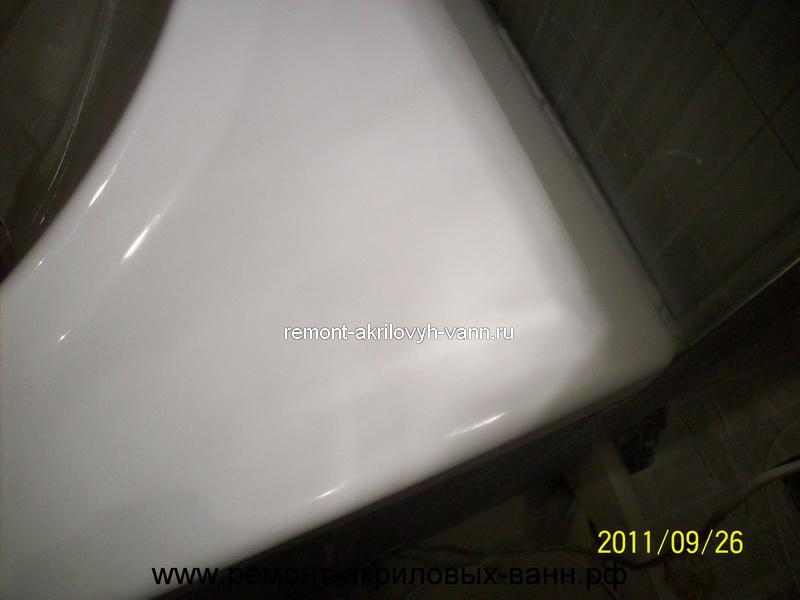 Ремонт скола эмали стальной ванны в воронеже - 6e6d